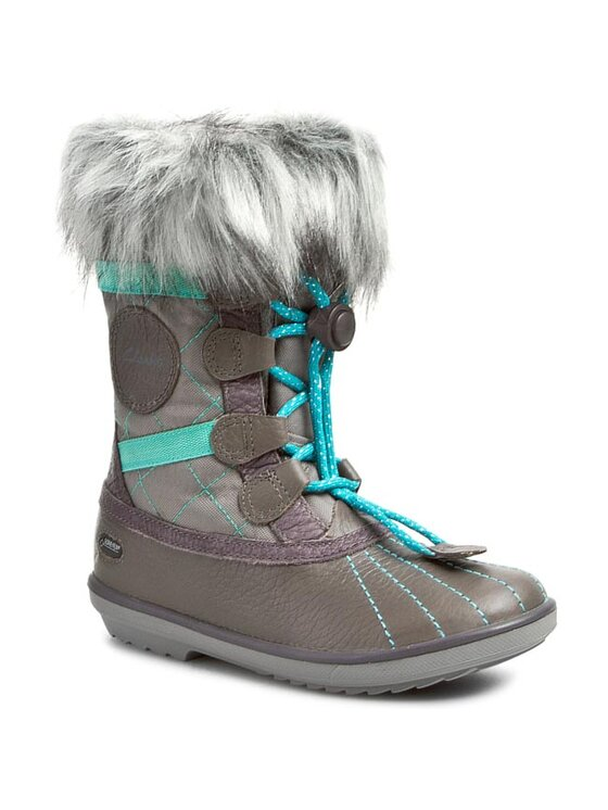 Clarks Clarks Śniegowce Fab Jump GTX 261025506 Szary