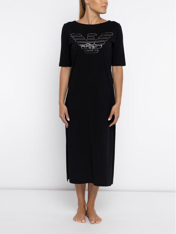 Emporio Armani Underwear Emporio Armani Underwear Sukienka codzienna 164009 9P291 00020 Czarny Regular Fit
