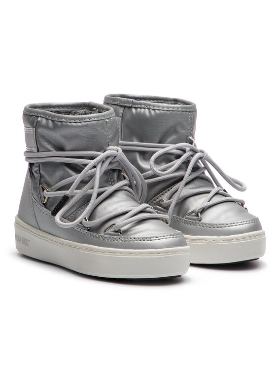 Moon Boot Moon Boot Sněhule Pulse Jr Girl Nylon Wp 34060200002 Stříbrná