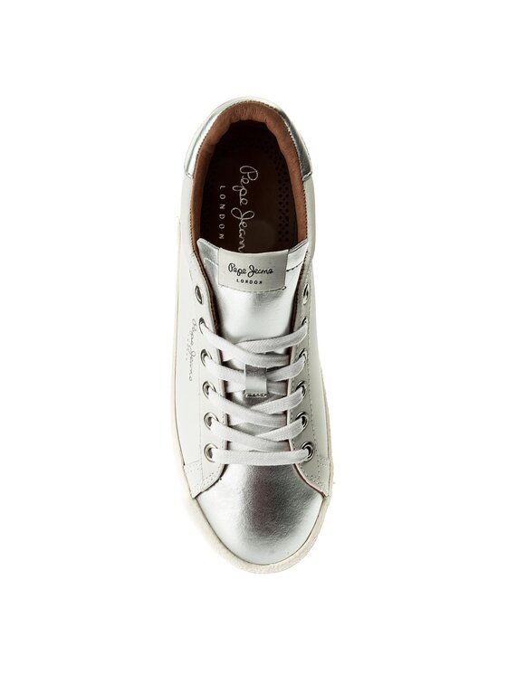 Pepe Jeans Pepe Jeans Sneakersy Portobello W PLS30695 Biały