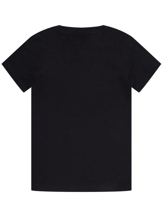 NIKE NIKE T-Shirt Sportswear AR5252 Czarny Standard Fit