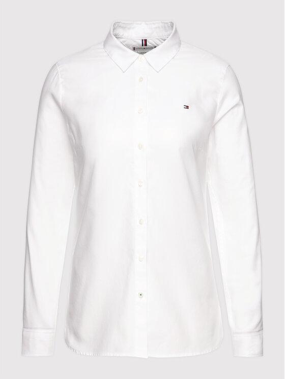 Tommy Hilfiger Tommy Hilfiger Риза Heritage Regular Fit Shirt 1M87647512 Бял Regular Fit