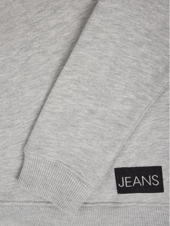 Calvin Klein Jeans Calvin Klein Jeans Mikina Institutional IU0IU00040 Šedá Regular Fit