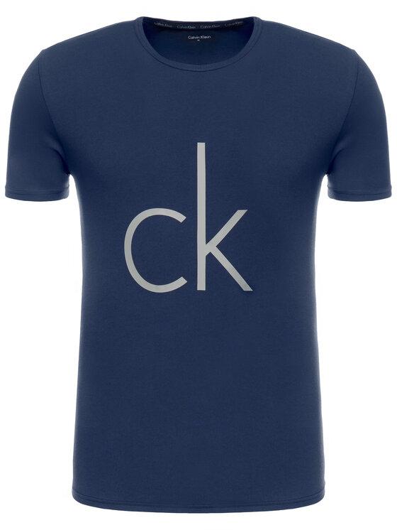 Calvin Klein Underwear Calvin Klein Underwear T-Shirt 000NB1164E Granatowy Regular Fit