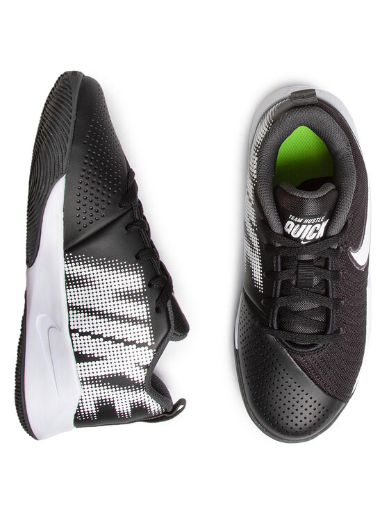 Nike Nike Buty Team Hustle Quick 2 (Gs) AT5298 002 Czarny