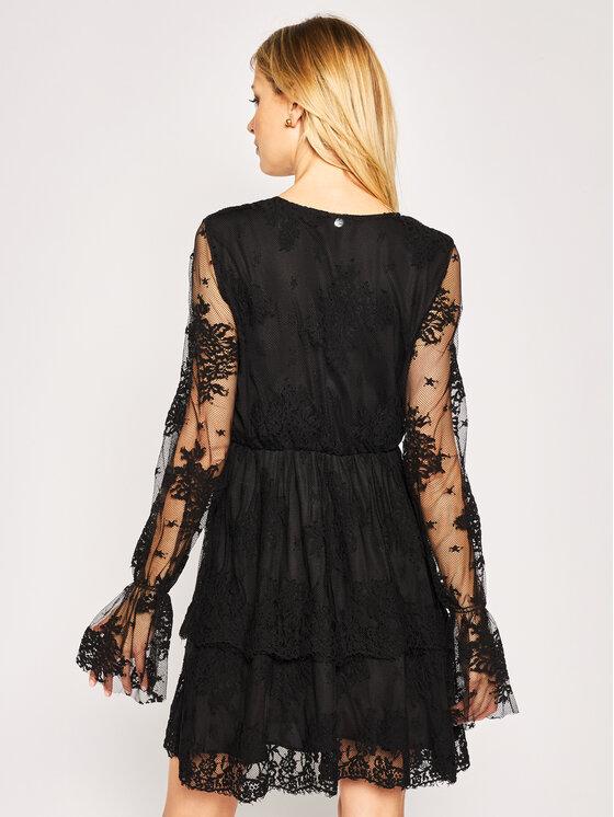 Liu Jo Liu Jo Φόρεμα κοκτέιλ WA0317 J5924 Μαύρο Regular Fit