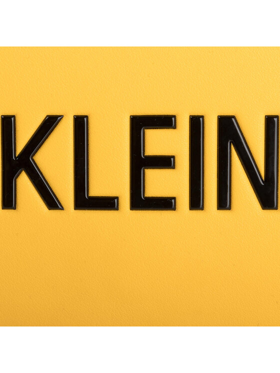 Calvin Klein Jeans Calvin Klein Jeans Torebka Sculpted Lg Ew Flap K60K605809 Żółty