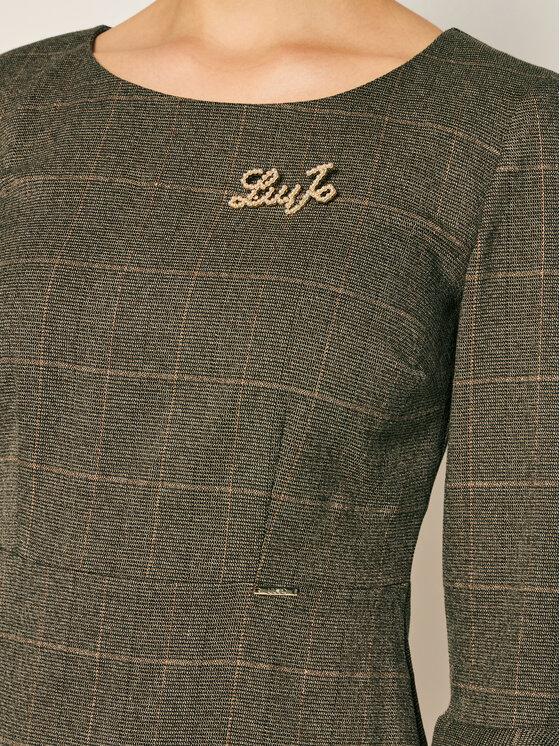 Liu Jo Liu Jo Úpletové šaty WF0294 T4523 Hnědá Regular Fit