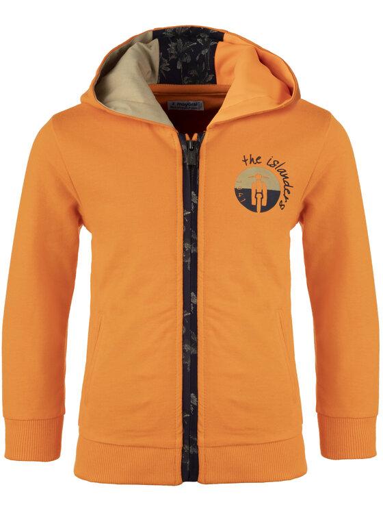 Mayoral Mayoral Bluza 3427 Pomarańczowy Regular Fit