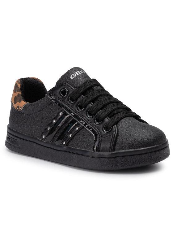 Geox Geox Sneakersy J Djrock G. G J944MG 0BNDH C9999 S Černá