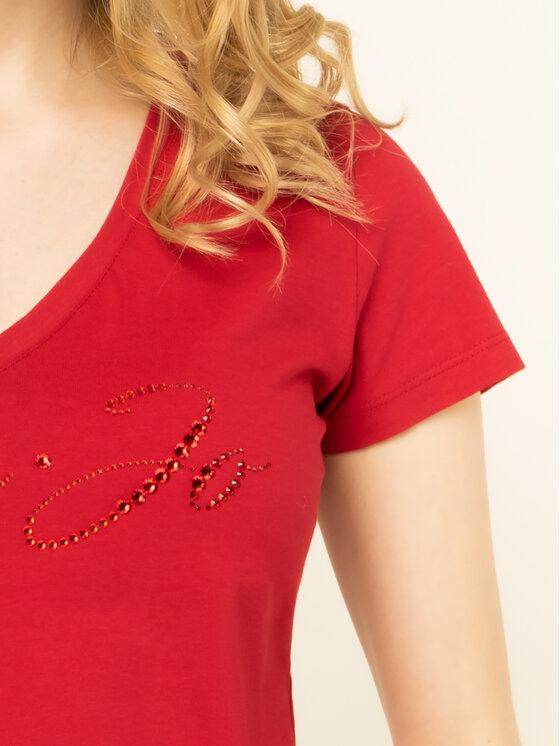 Liu Jo Liu Jo Marškinėliai WA0324 J5703 Raudona Regular Fit
