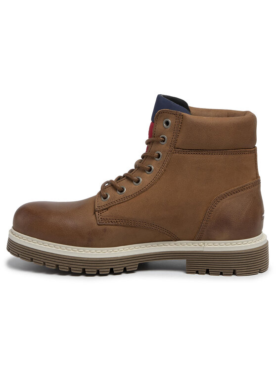 Tommy Jeans Tommy Jeans Trappers Outdoor Nubuck Boot EM0EM00316 Maro