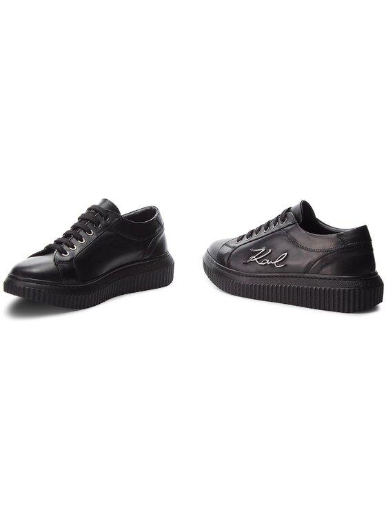 KARL LAGERFELD KARL LAGERFELD Sneakersy KL42305 Čierna