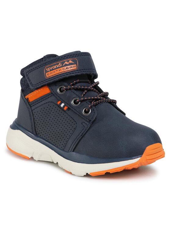 Sprandi Auliniai batai CP07-91335-01(III)CH Tamsiai mėlyna