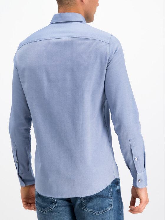 Emporio Armani Emporio Armani Hemd 6G1CP5 1NISZ 0920 Blau Regular Fit