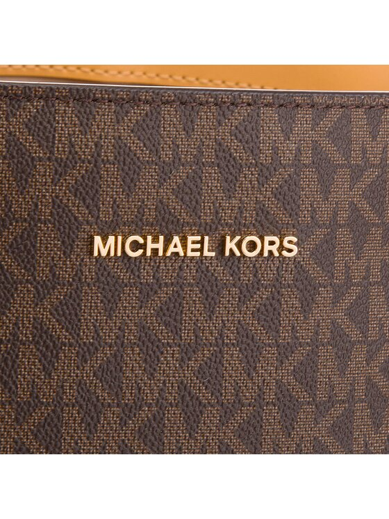MICHAEL Michael Kors MICHAEL Michael Kors Handtasche Voyager 30H7GV6T8L Braun