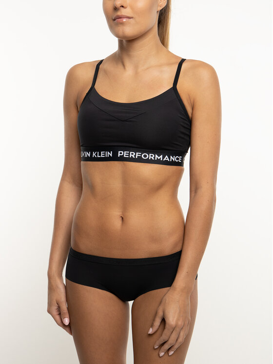 Calvin Klein Performance Calvin Klein Performance Podprsenkový top 00GWS8K114 Čierna