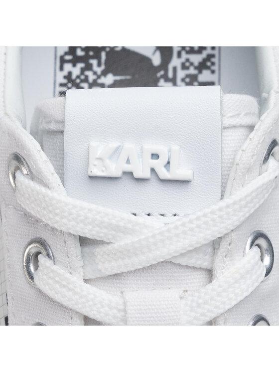 KARL LAGERFELD KARL LAGERFELD Sneakersy KL60213 Biały