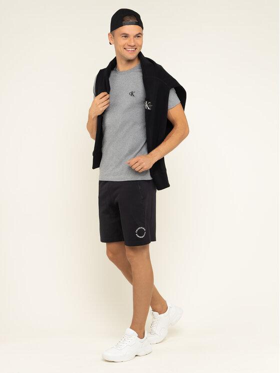 Calvin Klein Jeans Calvin Klein Jeans T-Shirt Tee Shirt Essential J30J314544 Szary Slim Fit