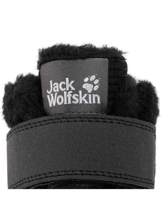 Jack Wolfskin Jack Wolfskin Апрески Polar Wolf Texapore Mid Vc K 4036171 Черен