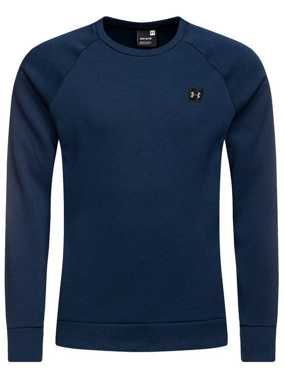 Under Armour Under Armour Суитшърт 1320738 Тъмносин Loose Fit