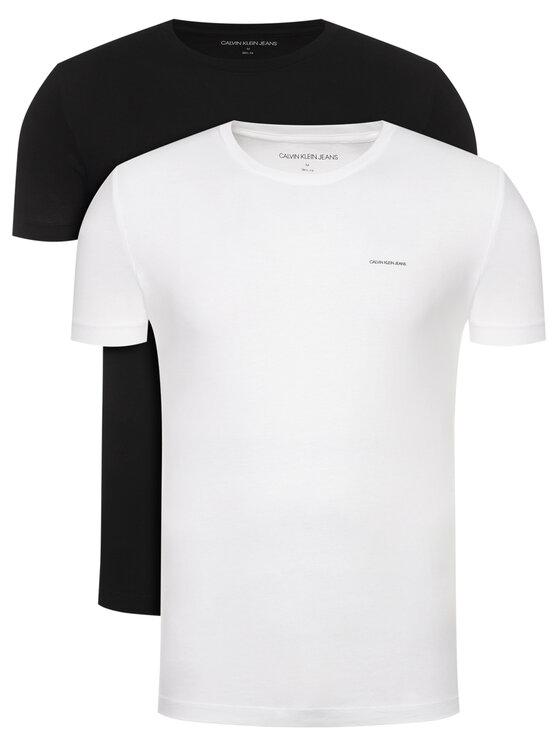 Calvin Klein Jeans 2 marškinėlių komplektas J30J315194 Spalvota Slim Fit