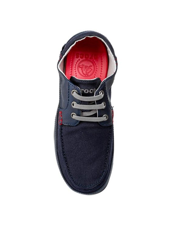 Crocs Crocs Κλειστά παπούτσια Stretch Sole Lace-Up M 14774 Σκούρο μπλε