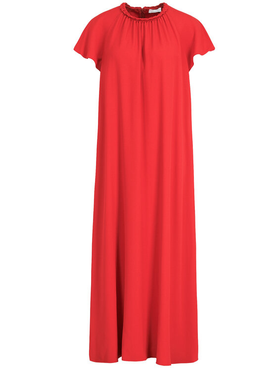 Red Valentino Red Valentino Večerné šaty Abito RR0VAD69 Červená Regular Fit