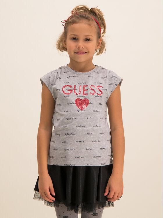 Guess Guess T-shirt K93I05 K82K0 Grigio Regular Fit