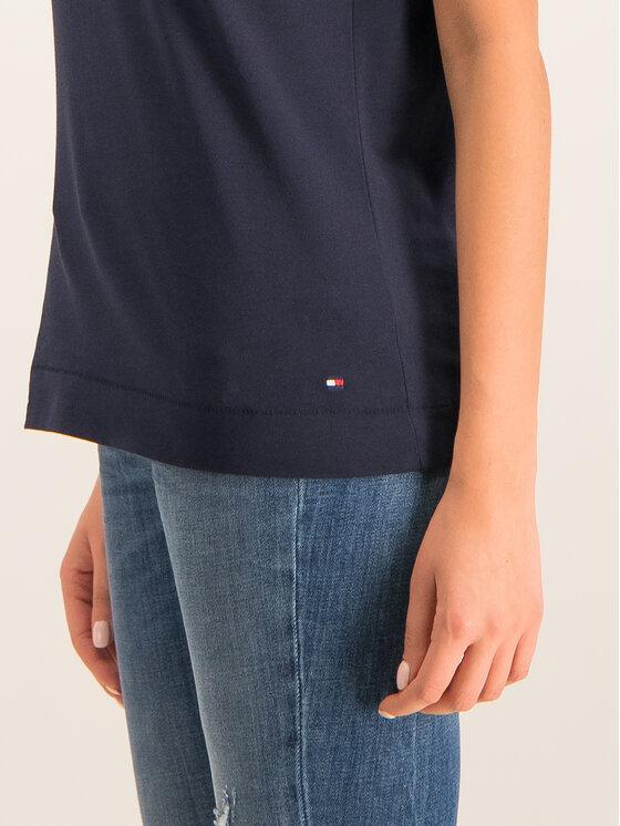 Tommy Hilfiger Tommy Hilfiger Marškinėliai Kelsey WW0WW25893 Tamsiai mėlyna Regular Fit