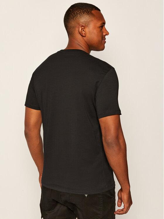 Armani Exchange Armani Exchange T-Shirt 6HZTAL ZJN7Z 1200 Černá Regular Fit