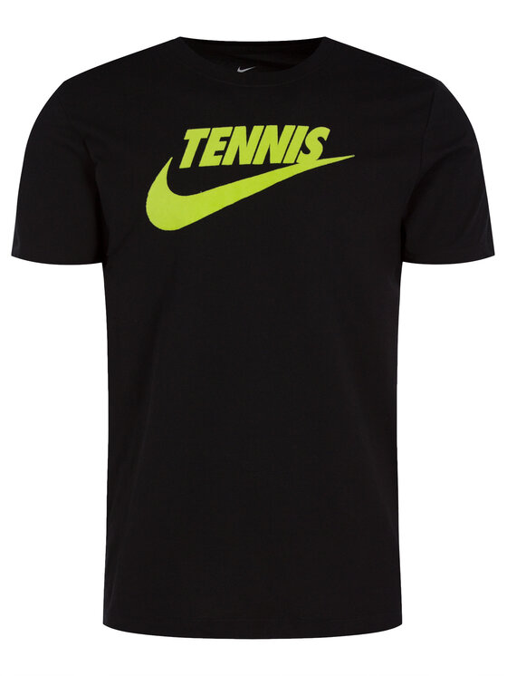 Nike Nike T-shirt Court CJ0429 Noir Standard Fit