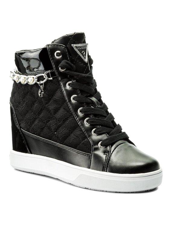 Guess Guess Sneakers Forty FLFRT1 ELE12 Schwarz