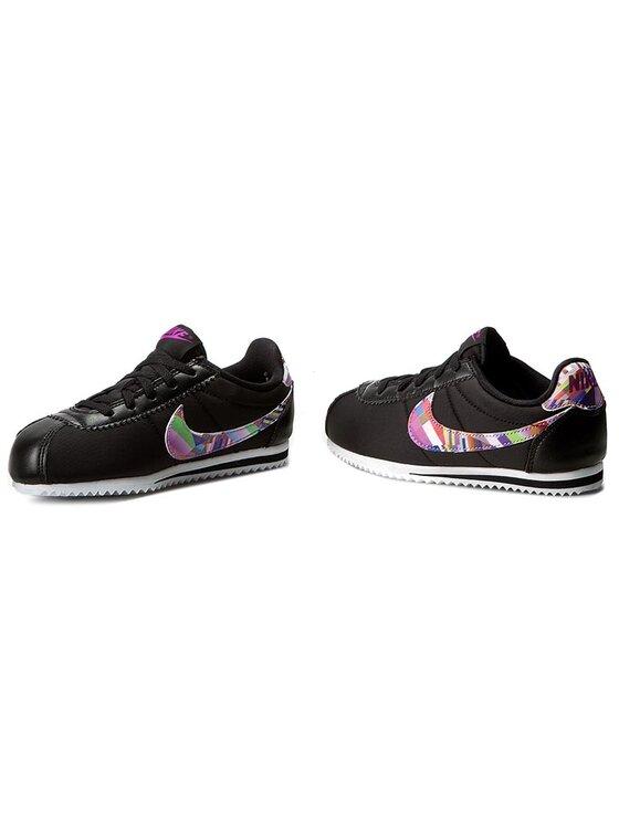 Nike Nike Pantofi Cortez Nylon Print (PS) 859565 001 Negru