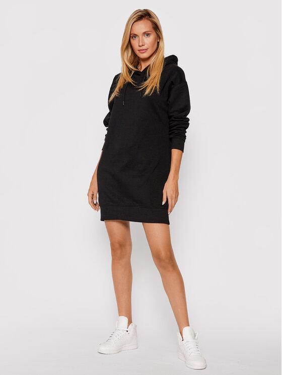 Kappa Kappa Džemper haljina Jamala 310023 Crna Regular Fit