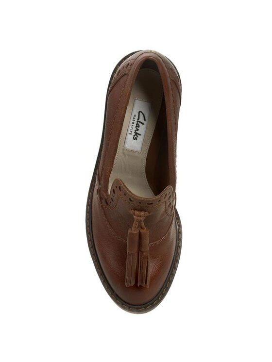 Clarks Clarks Обувки Blues Charm 261010214 Кафяв