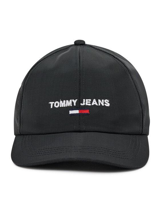 Tommy Jeans Tommy Jeans Czapka z daszkiem Sport Cap AW0AW09909 Czarny
