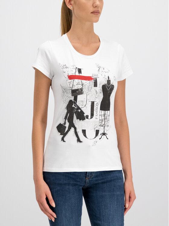 Liu Jo Liu Jo T-Shirt W69403 J9944 Weiß Regular Fit