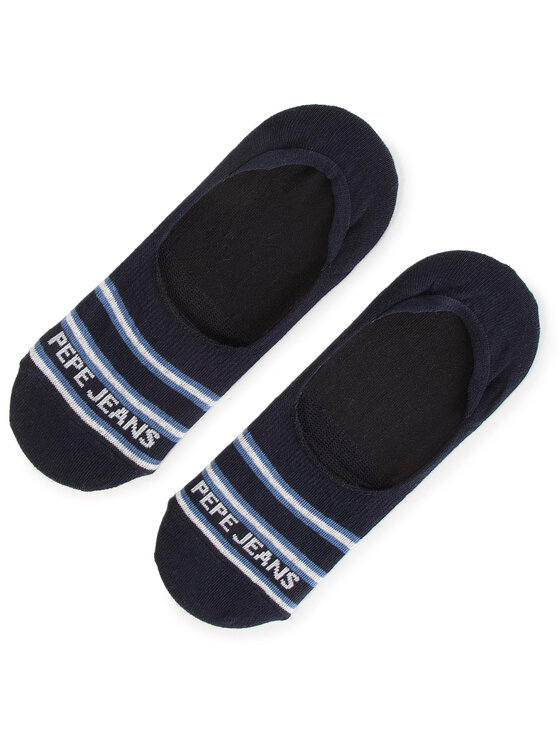 Pepe Jeans Pepe Jeans Σετ κάλτσες σοσόνια ανδρικές 3 τεμαχίων Hadwin PMU10485 Σκούρο μπλε