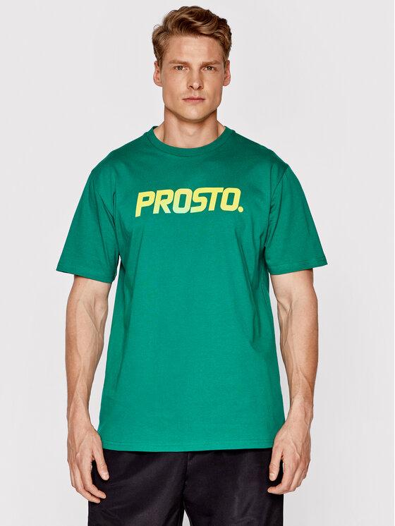 PROSTO. Marškinėliai 1133 Žalia Regular Fit