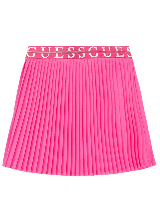 Guess Guess Sukně K02D11 WCS70 Růžová Regular Fit
