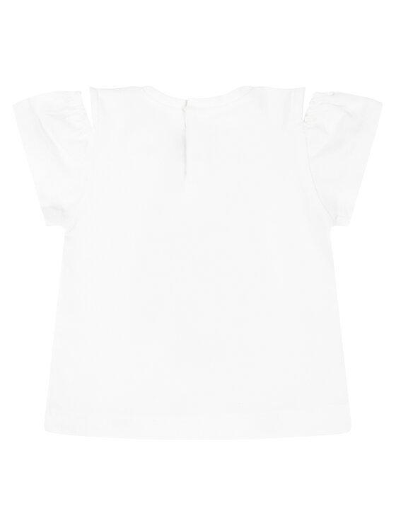 Mayoral Mayoral T-Shirt 1007 Λευκό Regular Fit