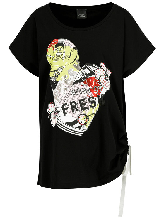 Persona by Marina Rinaldi Persona by Marina Rinaldi T-shirt 1972059 Noir Regular Fit