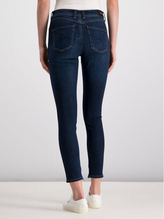 Pepe Jeans Pepe Jeans Straight Leg džínsy PL203384DB78 Tmavomodrá Skinny Fit