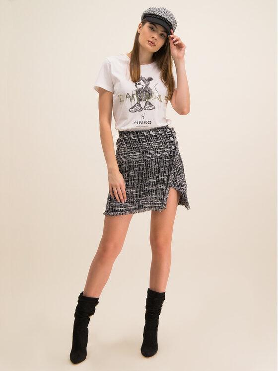 Pinko Pinko T-Shirt UNIQUENESS Golosa PE 20 UNQS 1Q1043 Y6A5 Λευκό Regular Fit