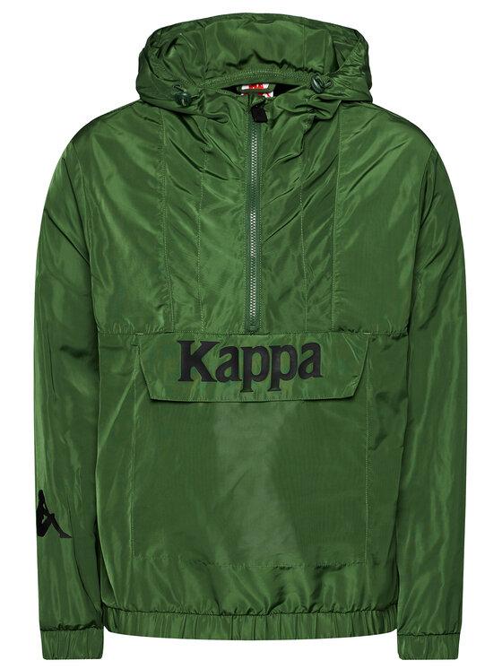 Kappa Anorak stiliaus striukė Issac 309041 19-4006 Žalia Regular Fit