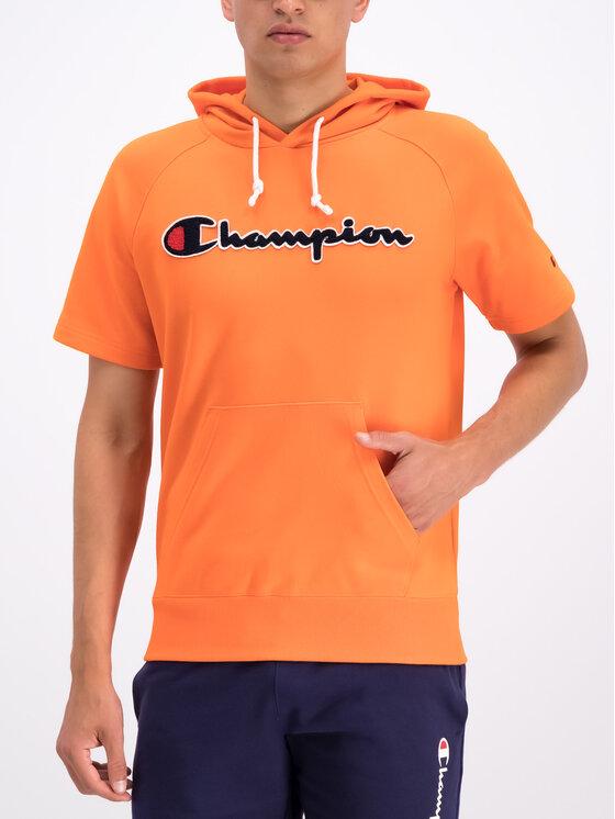 Champion Champion Суитшърт 212945 Оранжев Comfort Fit