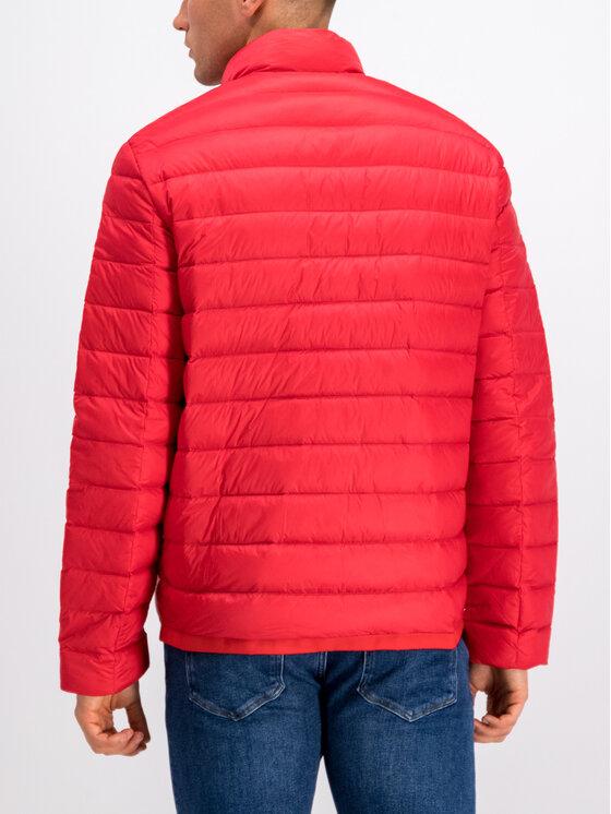Calvin Klein Calvin Klein Пухено яке K10K104427 Червен Slim Fit