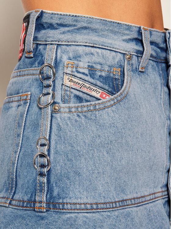 Diesel Diesel Spódnica jeansowa De-Bethy-Gonna A00366 0GAZV Niebieski Regular Fit