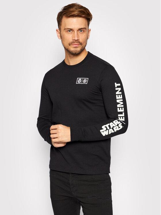 Element Marškinėliai ilgomis rankovėmis STAR WARS™ Child U1LSF2 Juoda Regular Fit